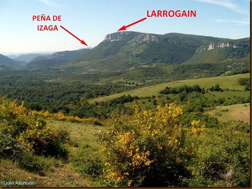 Panorámica del Larrogain