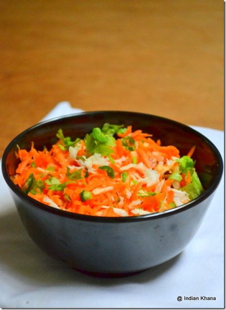 Easy Carrot Coconut Salad recipe