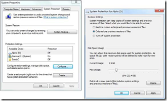 Restrictions On Shadow Copy Of Files In Windows 7 Over Come The Restrictions On Shadow Copy in Windows