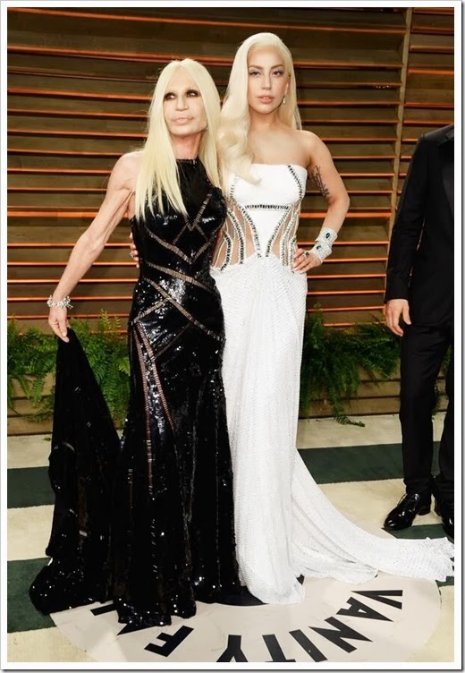 lady-gaga-donatella-versace-vanity-fair-oscar-2014-party