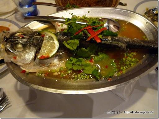 新月廣場銀湯匙-清蒸檸檬鱸魚