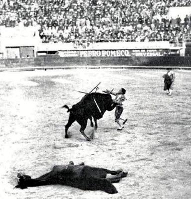1912-12-04 (p. Mundo Grafico) Mexico Punteret estocada