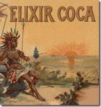 Elixir Coca (particolare)