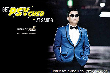 PSY GANGNAM STYLE SINGAPORE MARINA BAY SANDS YOUTUBE VIDEO K-POP SINGER ARTIST Get PSYched in Singapore at Marina Bay Sands Gangnam Style EVENT PLAZA FREE TICKETS GIVEAWAY