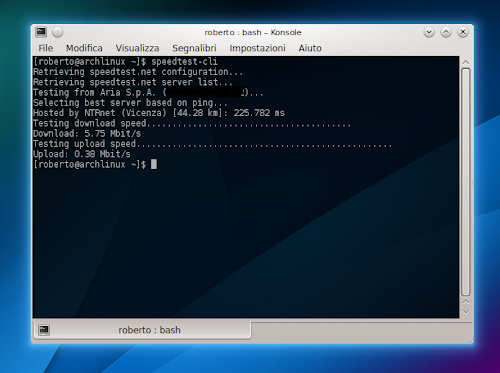 Speedtest CLI