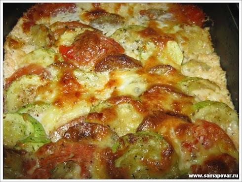 Овощная запеканка. www.samapovar.ru
