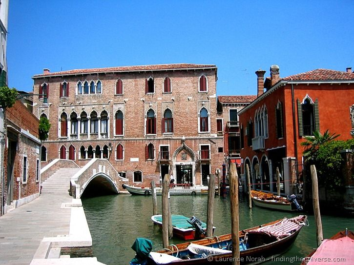 Venice Bridge and Boats