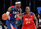 lebron james nba 130217 all star houston 44 game 2013 NBA All Star: LeBron Sets 3 pointer Mark, but West Wins