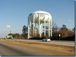 7397 Texas, Texarkana - I-30 East - water tower