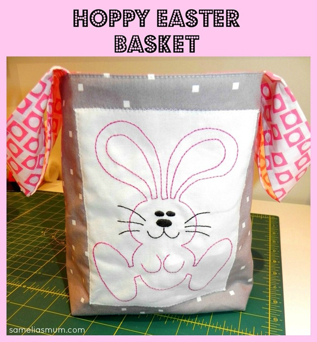 Hoppy Easter Basket Tutorial
