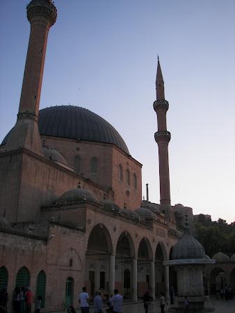 Obiective turistice Urfa: moscheea Mevlid i Halil