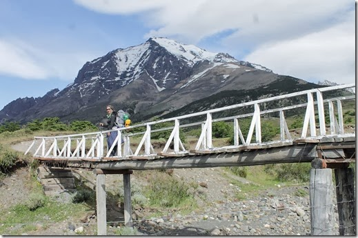 Ponte no caminho para Las Torres - Circuito W