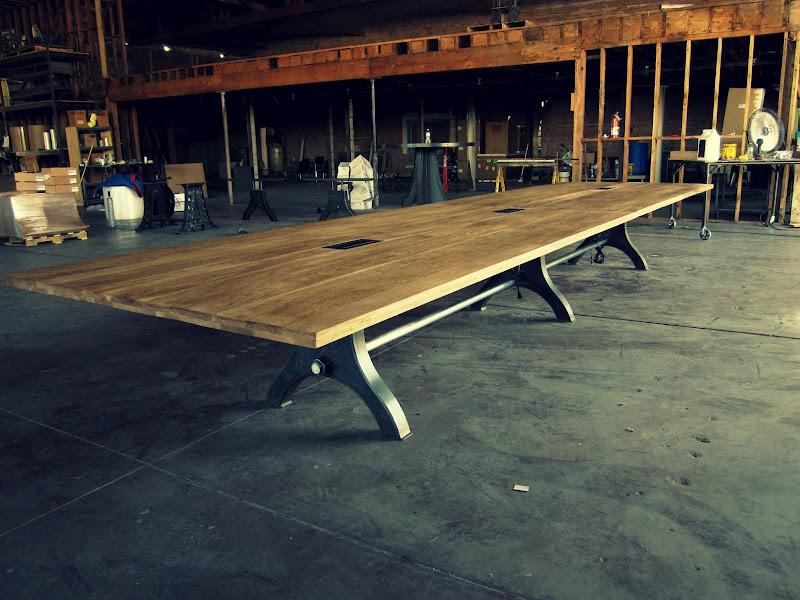 Vintage Industrial Conference Table Vintage Industrial Furniture - Vintage industrial conference table