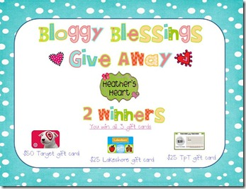 Bloggy Blessings give away