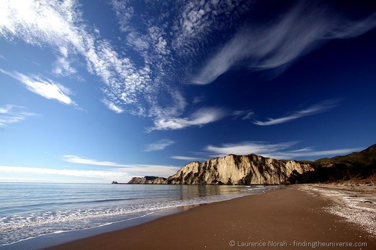 Strand in Neuseeland