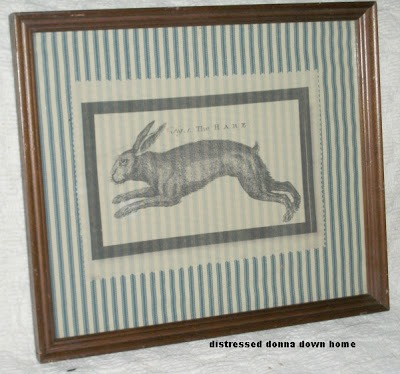 2013-3-8 Hares On Cloth - Framed 006