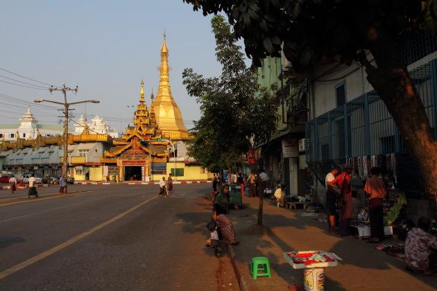 Sule Pagoda, Yangon, Burma