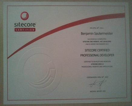 Sitecore Certification