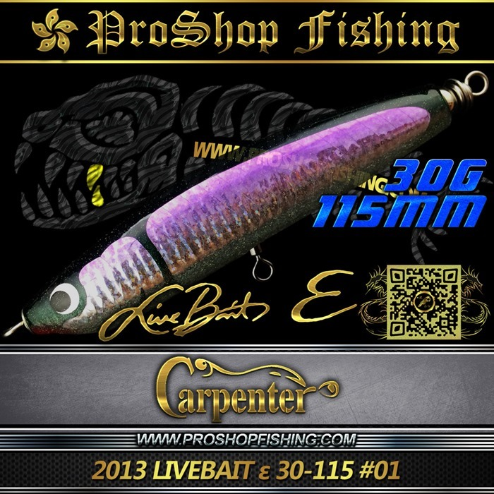 carpenter 2013 LIVEBAIT ε 30-115 #01.1