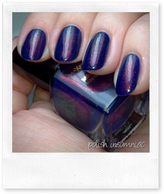 Max Factor Fantasy Fire (over Barry M Indigo) 5