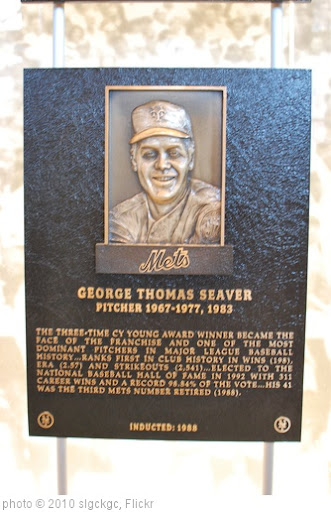 'Tom Seaver Hall of Fame Plaque' photo (c) 2010, slgckgc - license: http://creativecommons.org/licenses/by/2.0/