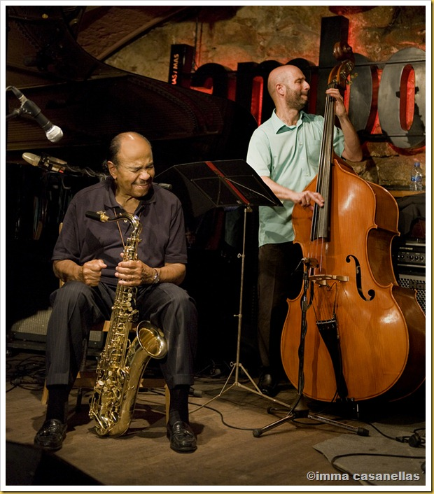 Benny Golson i Ignasi Gonzlez