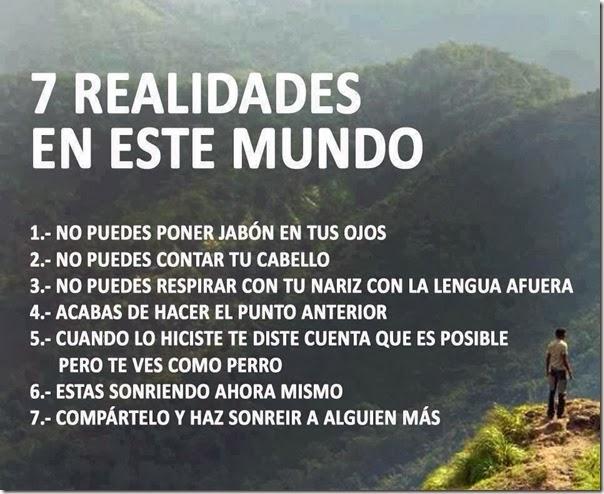7 realidades
