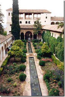 伊斯兰花园Granada-Alhambra