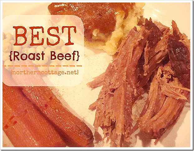 northern cottage best roast beef recipe