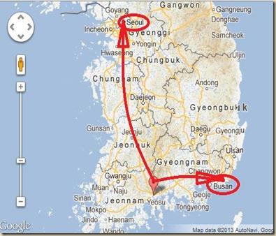 Gwangyang Map