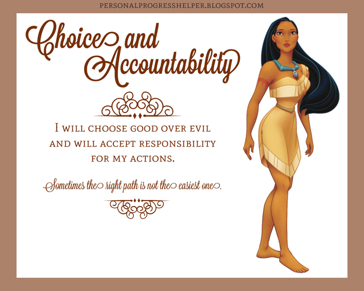 Young Women's Values with Disney Princesses: Choice and Accountability