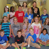 WBFJ Cici's Pizza Pledge-Calvary Baptist Day School-Mrs. Bray's 4th Grade Class-WS-10-2-13