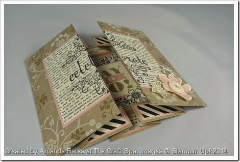 Double Display Birthday Card for Shelli, Amanda Bates at The Craft Spa (6)