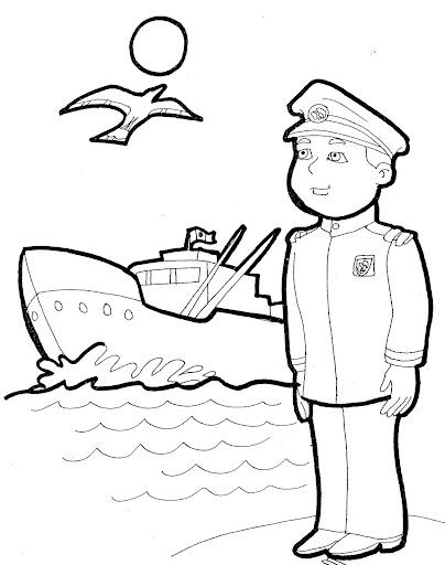 Día de la marina para colorear - Actividades para niños ...