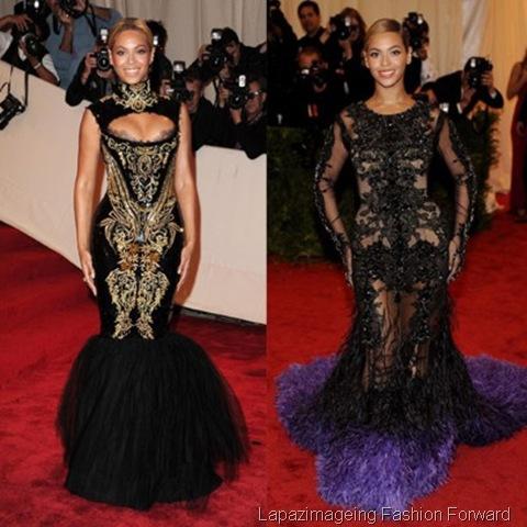 Beyonce Split in Pucci