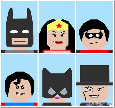 LEGO DC Comics characters