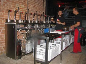 быстрый розлив пива в ресторане +пивные счетчики