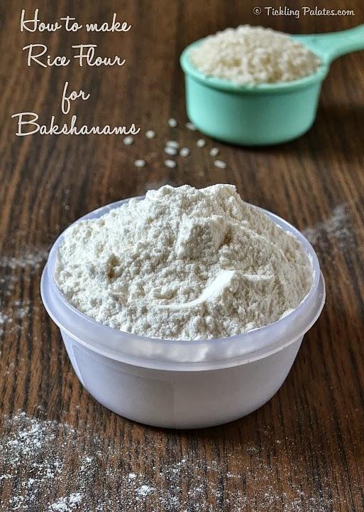Rice Flour for Bakshanams