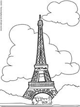 torre eiffel colorear (6)