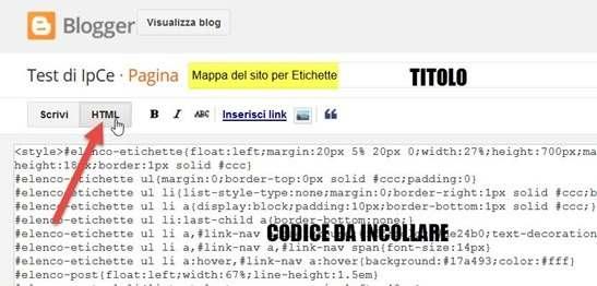 mappa-sito-etichette-blogger