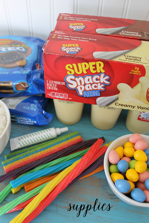 easy snack pack supplies