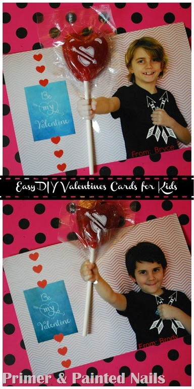 Easy Valentines Cards Collage