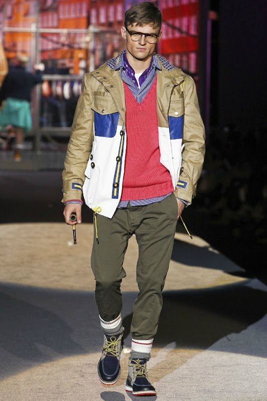 Milan Fashion Week Primavera 2012 - Dsquared² (36)