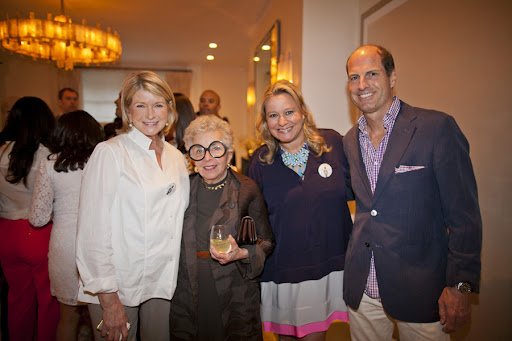 Martha, Sylvia Weinstock, Claudia Hanlin, and Peter Callahan