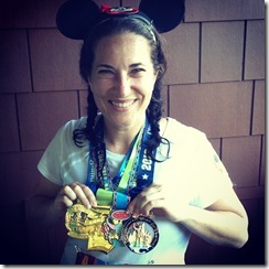 Disneyland Half Marathon Medals