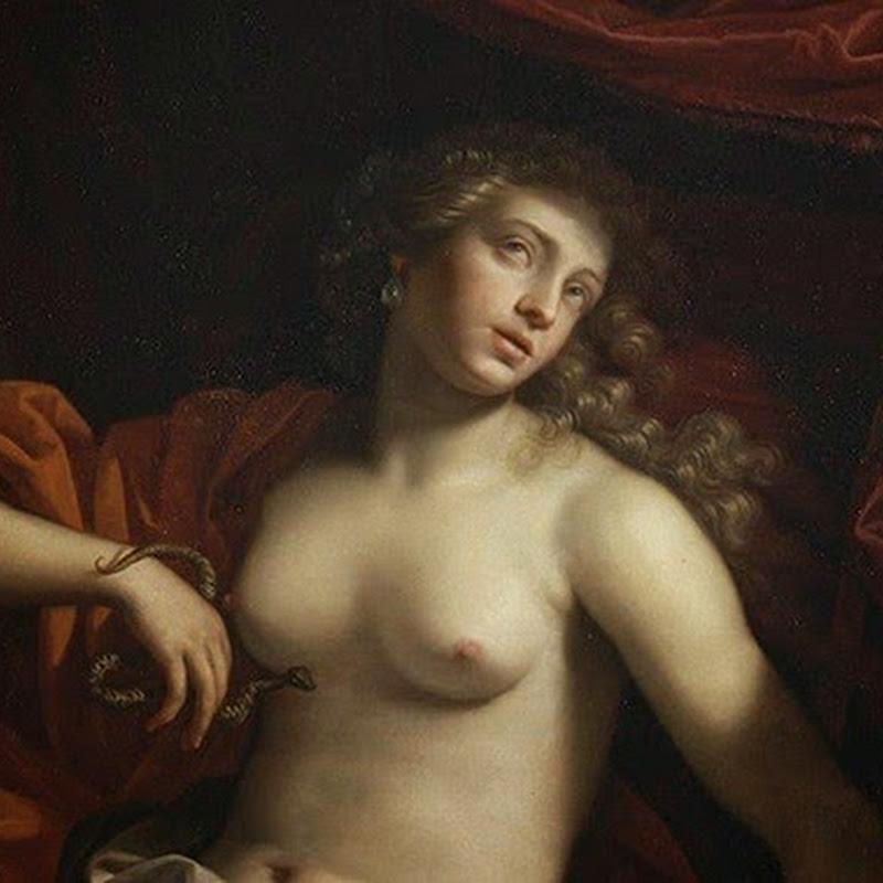 O mistério da morte de Cleópatra