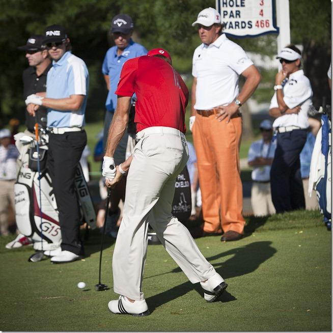 Dustin Johnson at 2011 US Open-4