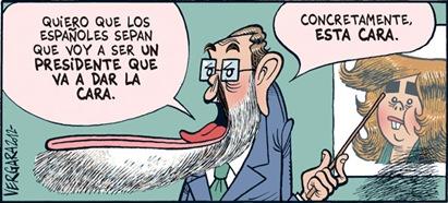 Rajoy el invisible  Vergara