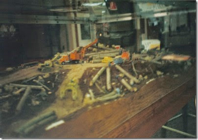 05 Logging Diorama at the Triangle Mall in November 1997