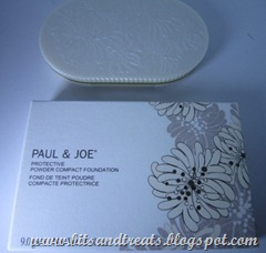 paul and joe protective foundation, by bitsandtreats